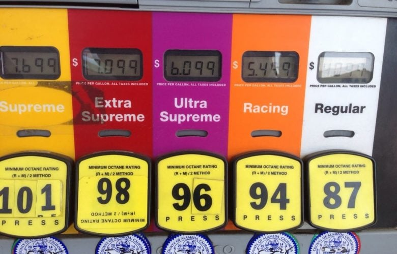 octane fuel standard