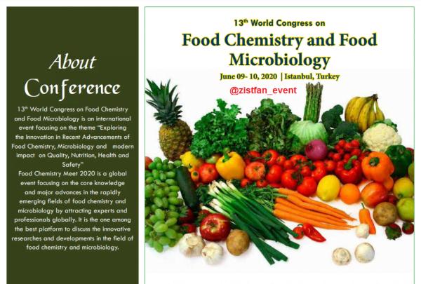 کنفرانس شیمی مواد غذایی