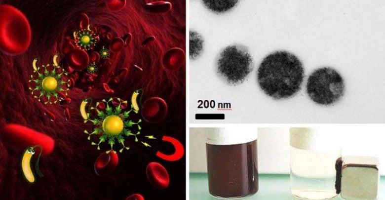استفاده از آهن ربا به جای آنتی بیوتیک در درمان عفونت های خونی