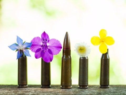 گلوله ها نه تنها باعث ایجاد صدمات فیزیکی می شوند، بلکه برای محیط زیست نیز خطراتی را در پی دارند. در پادگان های آموزشی-نظامی در سراسر جهان،صدها هزار پوکه جنگی زمین را اشغال کرده اند که هیچ راه موثری برای زدودن این پوکه ها وجود ندارد.