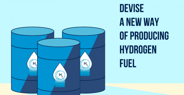 Researchers devise a new way of producing hydrogen fuel - اخبار زیست فن