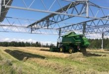 Harvesting the sun for power and produce Agrophotovoltaics increases the land use efficiency by over 60 percent - اخبار زیست فن