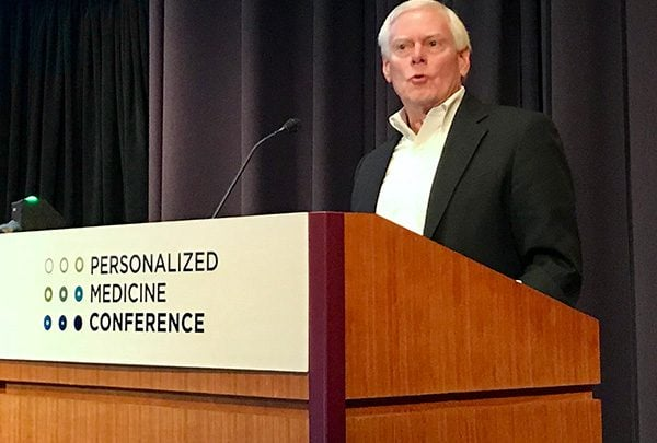 """Illumina's Jay Flatley: In """"Shock and Awe"""" at State of Personalized Medicine"""