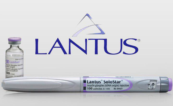 دهمین داروی پرفروش جهان، Lantus