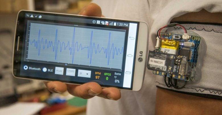 Portable biosensor warns of heart attack and stroke