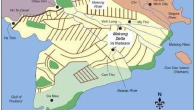 افزایش سطح آب دریا، خشکسالی، سدها و سایر تغییرات هیدرولوژیکی، معیشت ساکنین دلتای رود مکونگ را تهدید میکند.