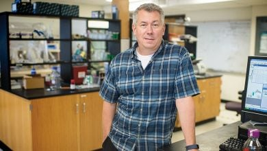 Photo of UTA biochemists study enzymes to provide keys for drug development
