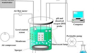 Photo of بررسی گرفتگی غشا در بیوراکتور غشایی حاوی ریزجلبک