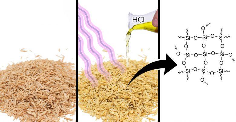 استفاده زیستی از پوسته برنج