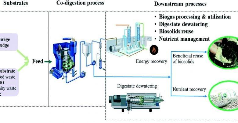 فرایند هضم بیهوازی چندخوراکه، دارای مزایای فراوانی است که توانایی به کارگیری ظرفیت هضم در تصفیهخانههای موجود را دارد.