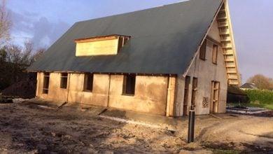 world's first prefab house built of Cannabis - اخبار زیست فن