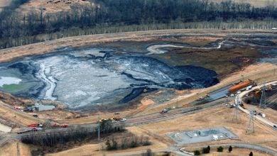 جلوگیری از نشر خاکستر زغالسنگ
