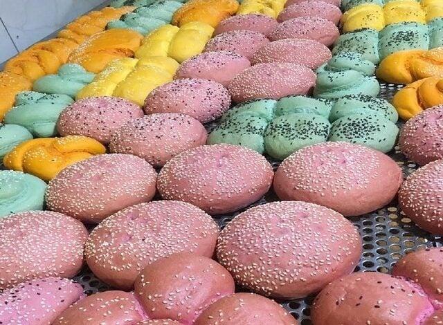 نان های رنگی ویتامینه