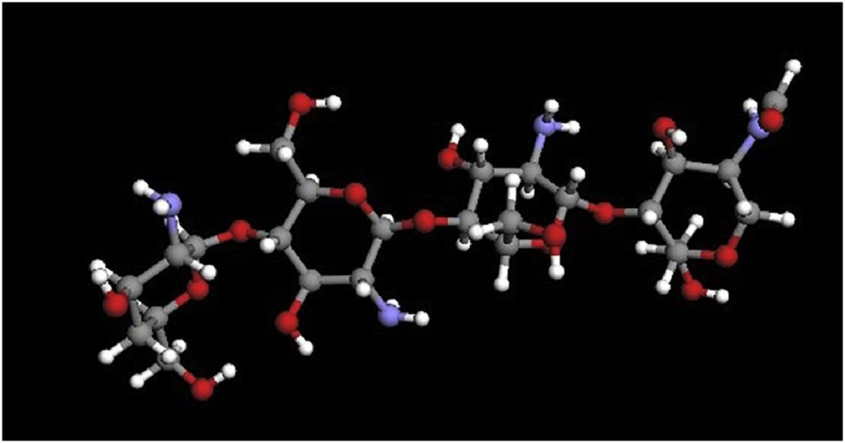 ساختار شیمیایی کیتوسان