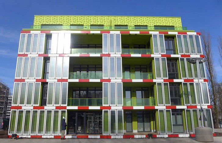 طراحی نمای ساختمان ها با هیدروژل های جلبکی